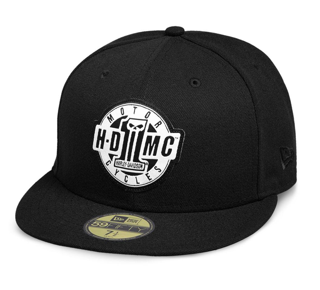 Black HARLEY-DAVIDSON Official Mens Genuine Logo 9FORTY Cap