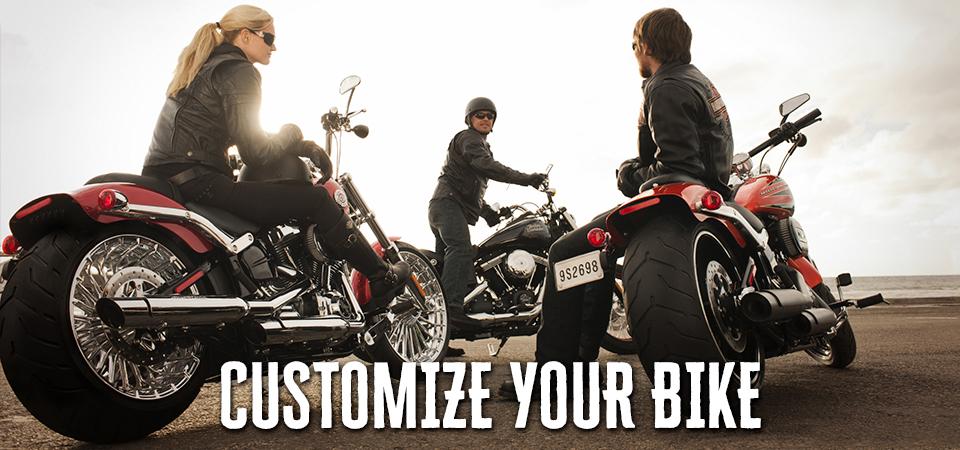 CUSTOMIZE YOUR BIKE メンテナンス用品やカスタマイズパーツ 取り扱いを増やしてライナップ