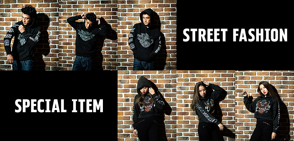 STREET FASHION SPECIAL ITEM